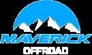 Logo firmy Maverick oferującej przejazdy off road na terenie Szczawnicy